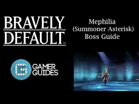Bravely Default: Summoner Job Asterisk Boss Guide