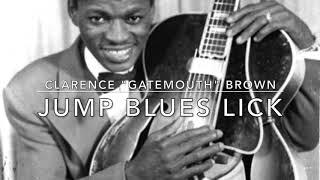 """주승훈 - Low Down Dirty Blues Lick #4 : Clarence """"Gatemouth"""" Brown's Jump Blues Lick"""