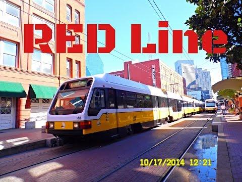 🚊/💺 Dallas DART: RED Line (SUPER Light Rail) to Parker Road... FULL RIDE!