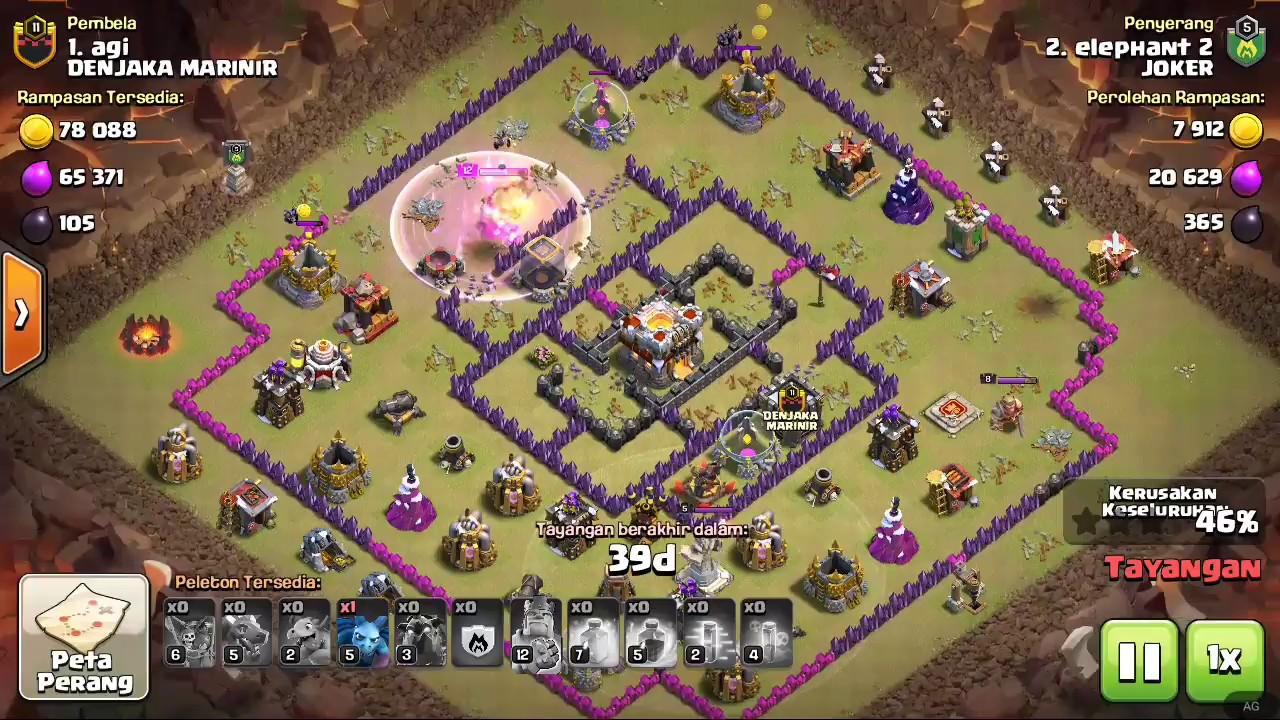 Base War Th 11 Prematur Terkuat 4