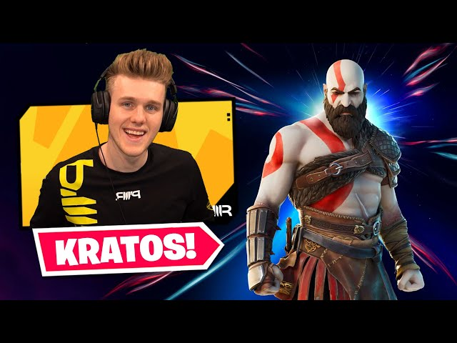 KRATOS Has Arrived in Fortnite! (New Alerts)
