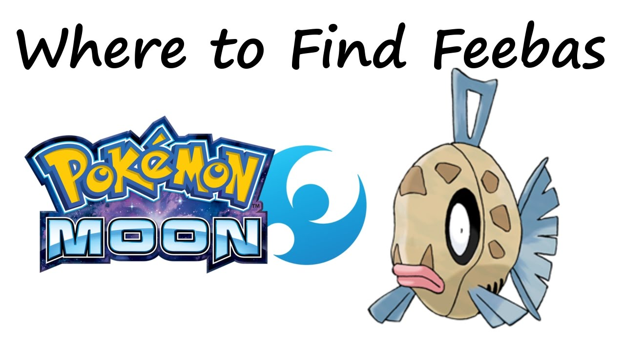 Pokemon ultra sun and moon where to find feebas youtube for Fishing rod pokemon moon