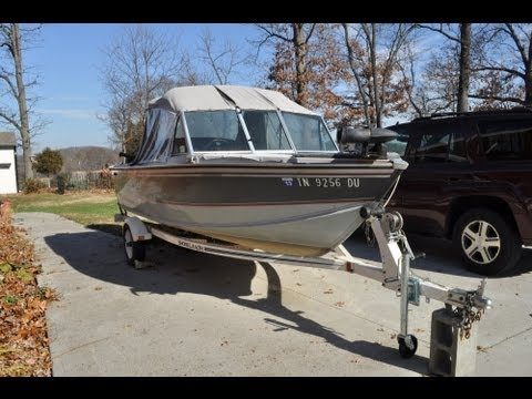 Repeat 2000 Smoker Craft Stinger 15' aluminum fishing boat