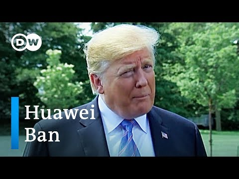 Trump declares national emergency in campaign to ban Huawei tech | DW News