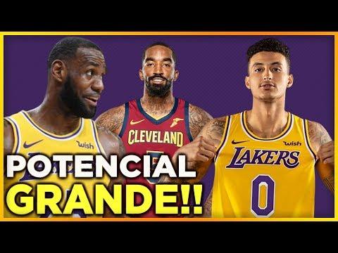 Noticias de LeBron James, Anthony Davis y Kyle Kuzma   JR Smith a Lakers ?   NBA Lakers En Español