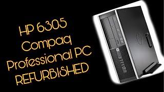 HP 6305 COMPAQ PROFESSIONAL COMPUTER UNBOXING