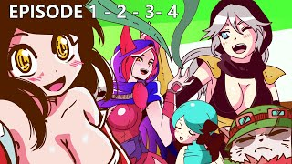 TEEMO VS ALL SERIES  (EPISODE 1, 2, 3, 4 COMPILATION) | LEAGUE OF LEGENDS ANIMATED