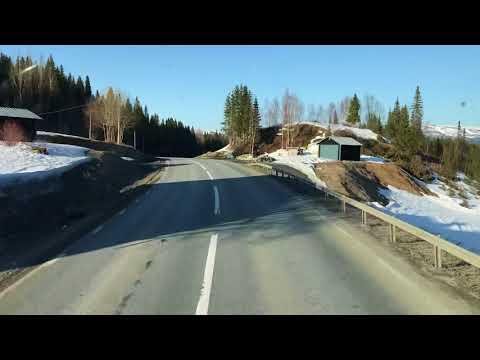 Von der Schwedischen Grenze nach Östersund E14 #2 (Schweden)