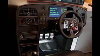 My first homemade sim racing cockpit build