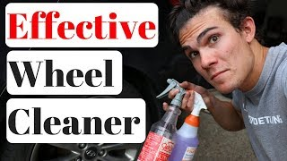 Super Clean vs Wheel Brightener: Acid vs Base Wheel Cleaner!