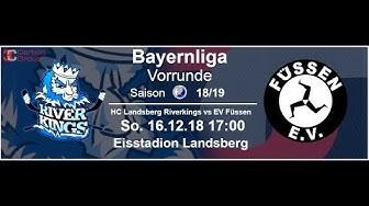 HC Landsberg vs EV Füssen 16.12.2018