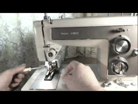 Sears Kenmore 40 Sewing Machine YouTube Beauteous How To Oil My Kenmore Sewing Machine