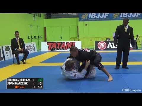 Nicholas Meregali vs Adam Wardzinski / European Championship 2016