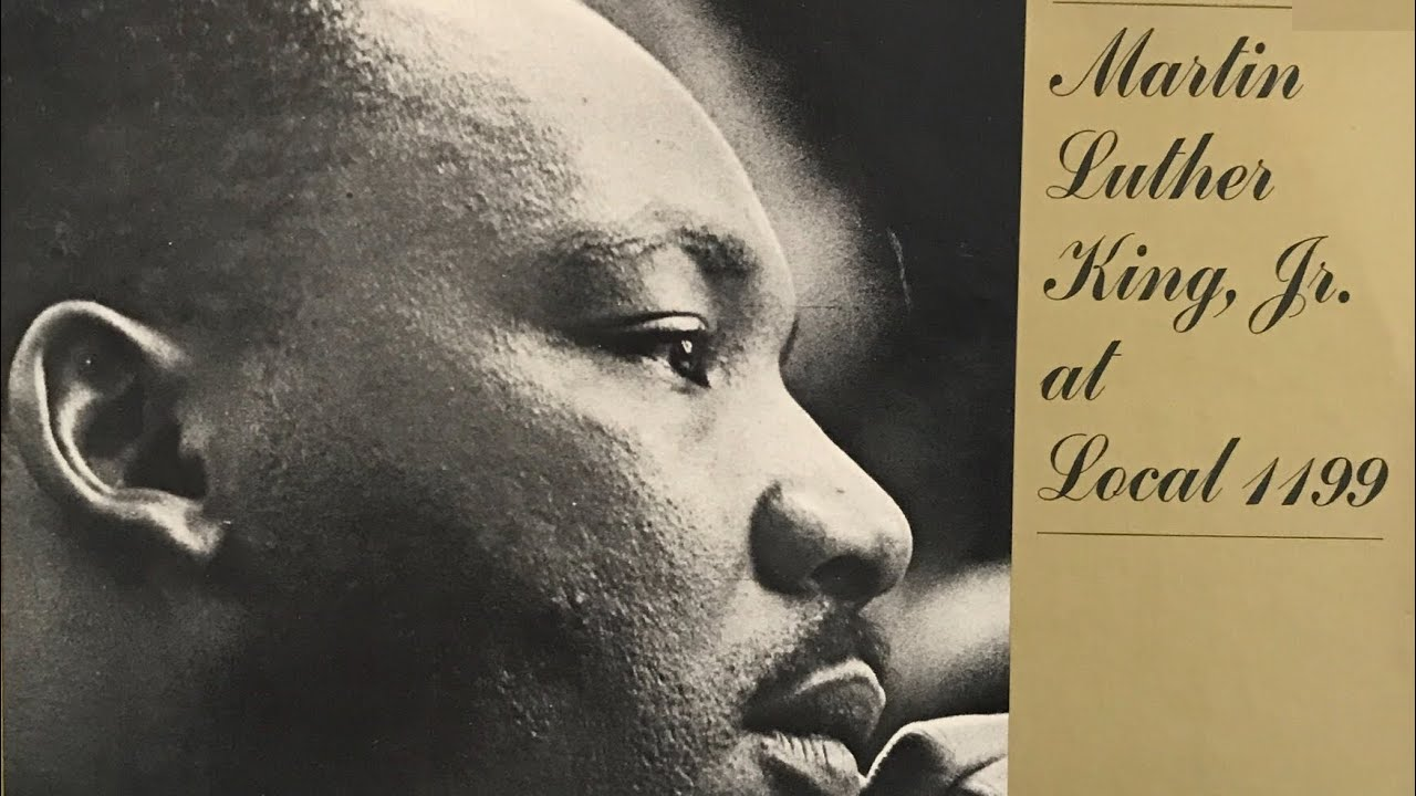 Martin Luther King at Local 1199 (1968)