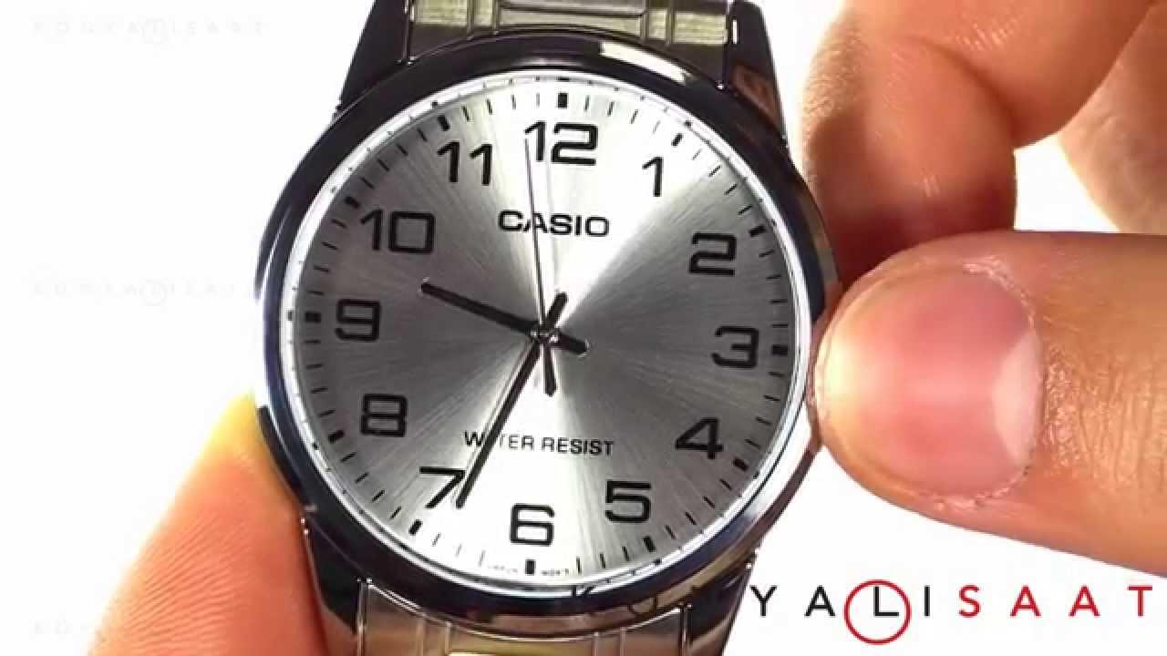 Casio Mtp V001d 7b Erkek Kol Saati Youtube