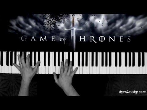 Музыка из игры престолов ноты