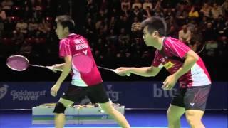 G. M. Fernaldi/K. S. Sukamuljo vs V Shem Goh/Wee Kiong Tan | MD SF Match 5 - Swiss Open 2015 thumbnail