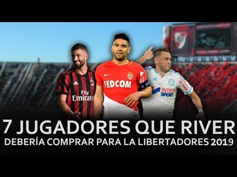 7 Jugadores que River Plate debería comprar para la Copa/ Mercado de Pases 2019