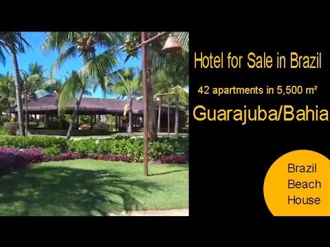 Brazil Beach House; Brazilian Hotel For Sale in Bahia