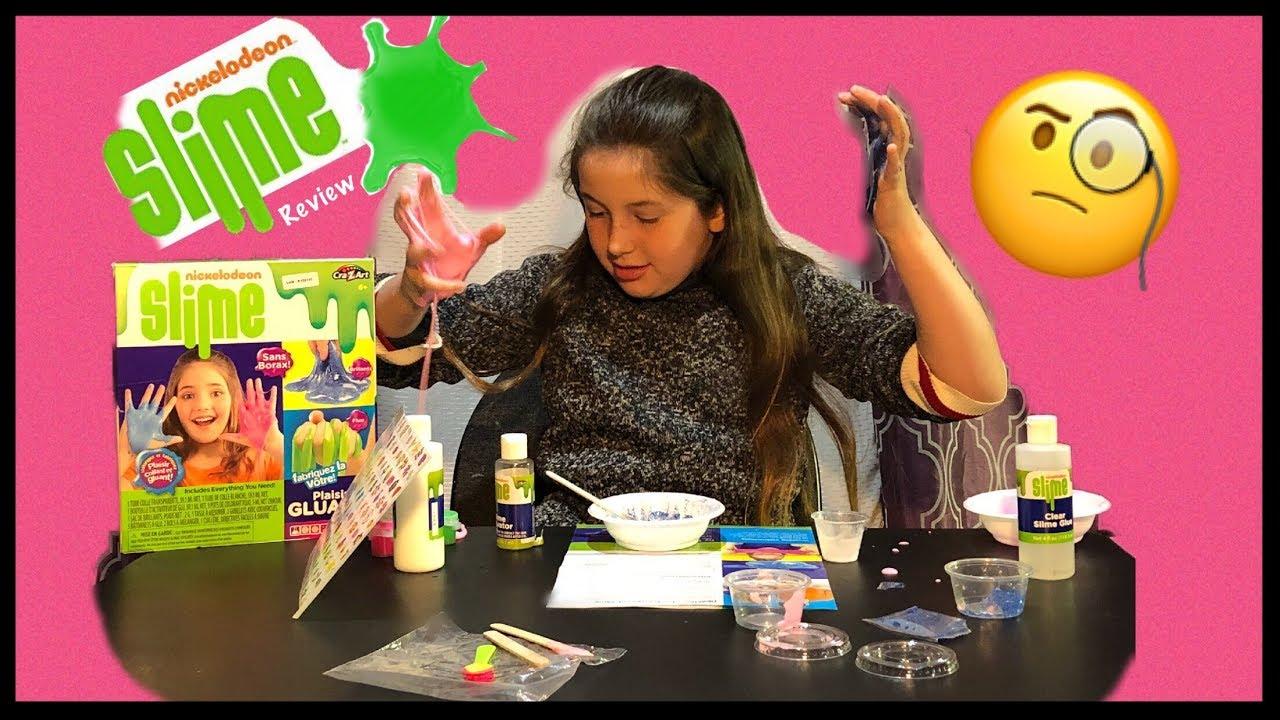 Nickelodeon Slime Kit Borax Free slime