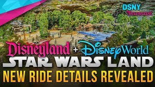 NEW Ride Details for STAR WARS LAND at Disneyland & Walt Disney World - Disney News - 3/06/18
