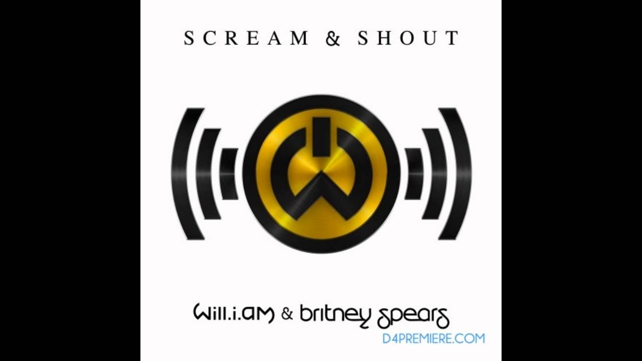 a musica scream and shout no krafta