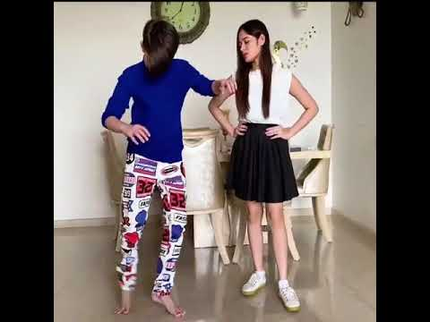 Jannat Zubair or ayaan zubair practice dance song on kala chashma 20 September 2020