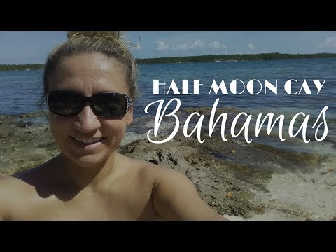 Half Moon Cay Bahamas Cruise Port Tour & Travel Vlog!