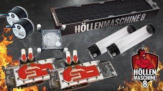 Die 3000€-Wasserkühlung der Höllenmaschine 8 | #Gaming-PC