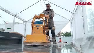 видео Промышленные наливные полы: временные затраты на устройство