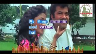 KEHDO KE TUM HO MERI WARNAAH hindi karaoke for Male singers with lyrics