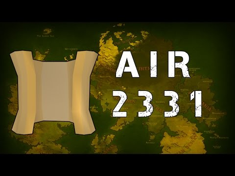 Runescape 2007 Clue Scroll Step - AIR 2331 SOLVED