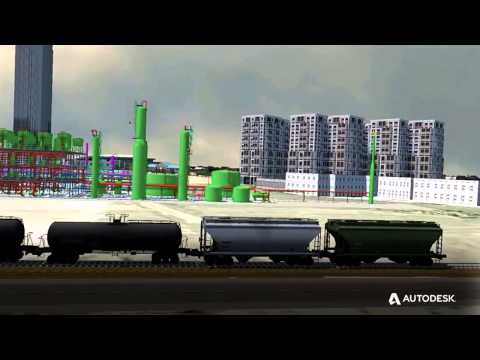 Autodesk Oil and Gas Showreel