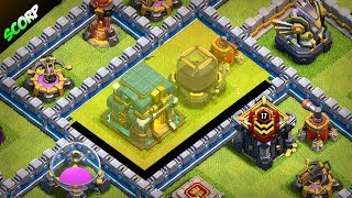 New TH12 Farming Base| Dark Elixir Protection | 3 Inferno's - Clash Of Clans