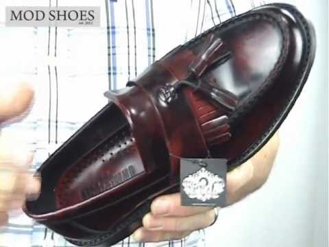 03a834d0783 Ikon Selecta Ladies Tassel Loafers Oxblood - YouTube