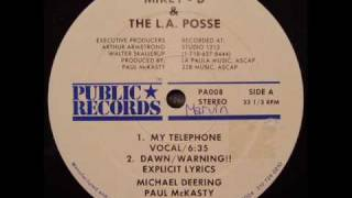 Mikey D and the L.A. posse - My telephone