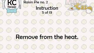 Raisin Pie No. 2 - Kitchen Cat