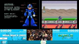 Mega Man X by Domalix, Tiki in 37:02 - Awesome Games Done Quick 2016 - Part 114