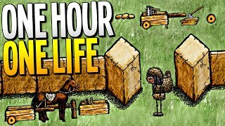 EXPLORING THE WORLD AND BUILDING AMAZING NEW CIVILIZATIONS LIVE - One Hour One Life Gameplay