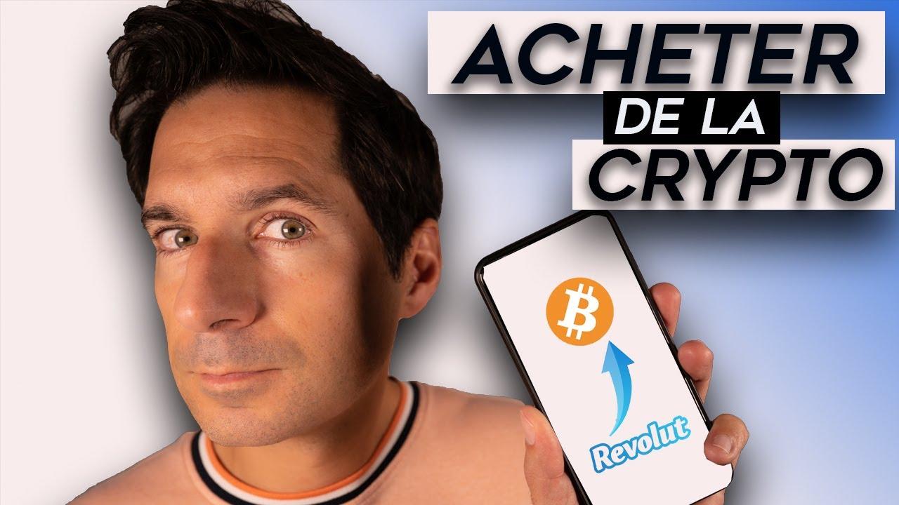 Comment ACHETER du BITCOIN ( crypto monnaie ) sur Revolut ? - Guide pas à pas