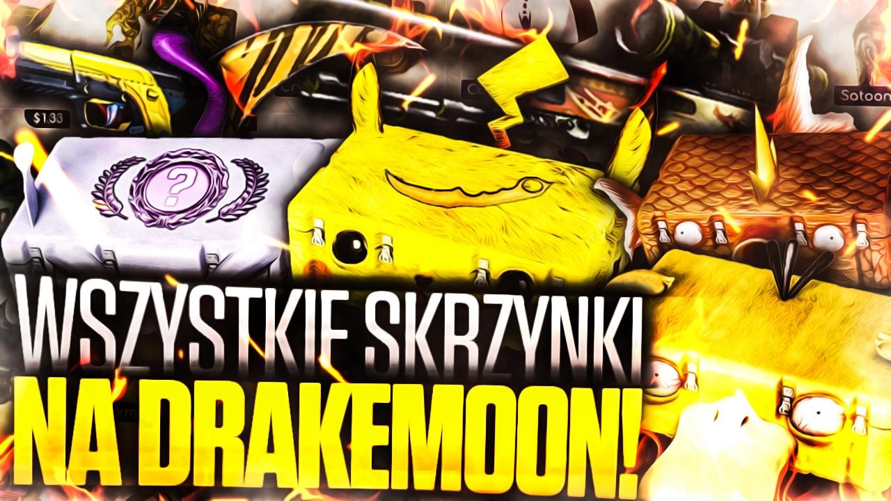 OTWIERAMY WSZYSTKIE SKRZYNKI NA DRAKEMOON! - YouTube  OTWIERAMY WSZYS...