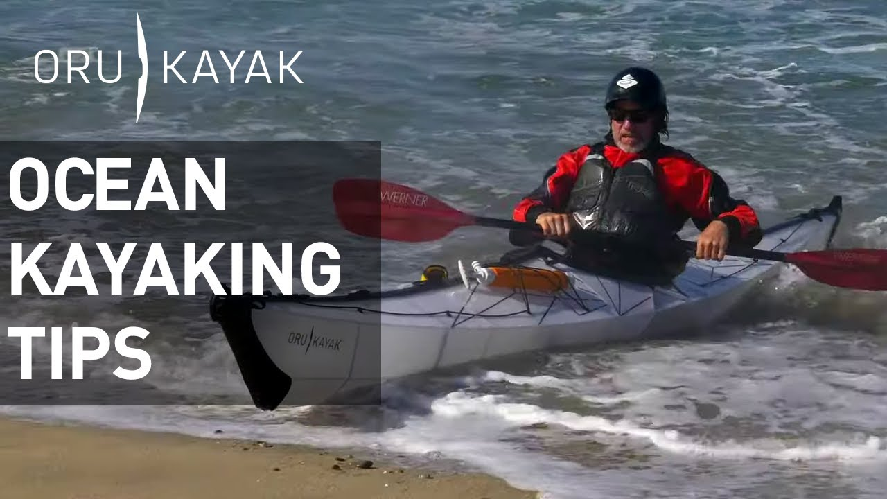 Oru Kayak How To: Launching from an Ocean Beach