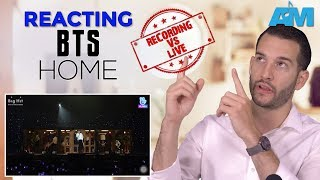 VOCAL COACH reacts to BTS singing HOME