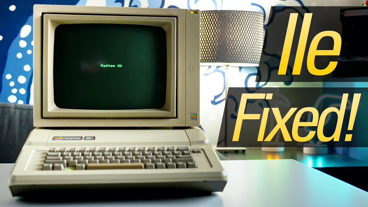 Replacing the RAM in My Trash-Picked Apple IIe!