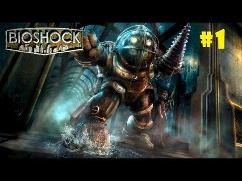 """■ BioShock en español Parte 1 """"Pistola y Rapture una ciudad bajo el mar """" ■"""