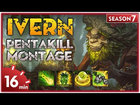 Ivern Montage | Best Ivern Plays S7 | Jungle & Support | League of Legends