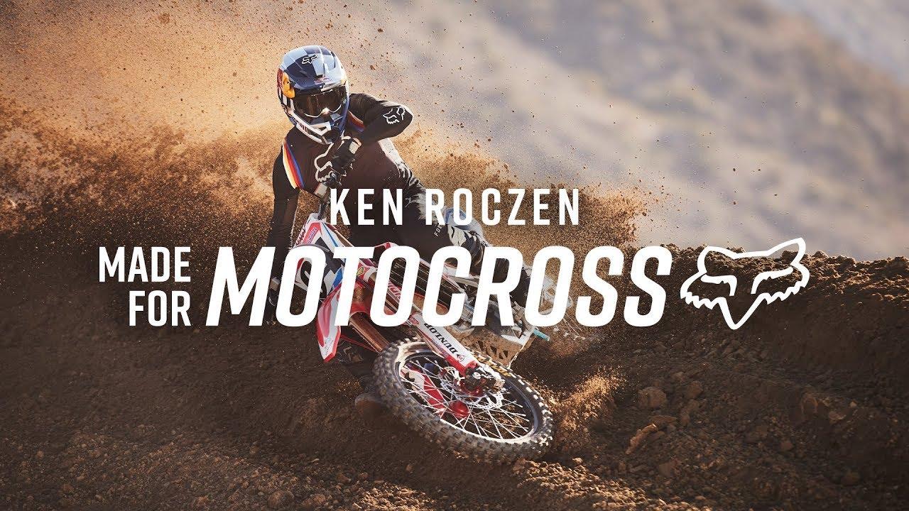 Fox MX20 is Made for Ken Roczen   Fox Racing