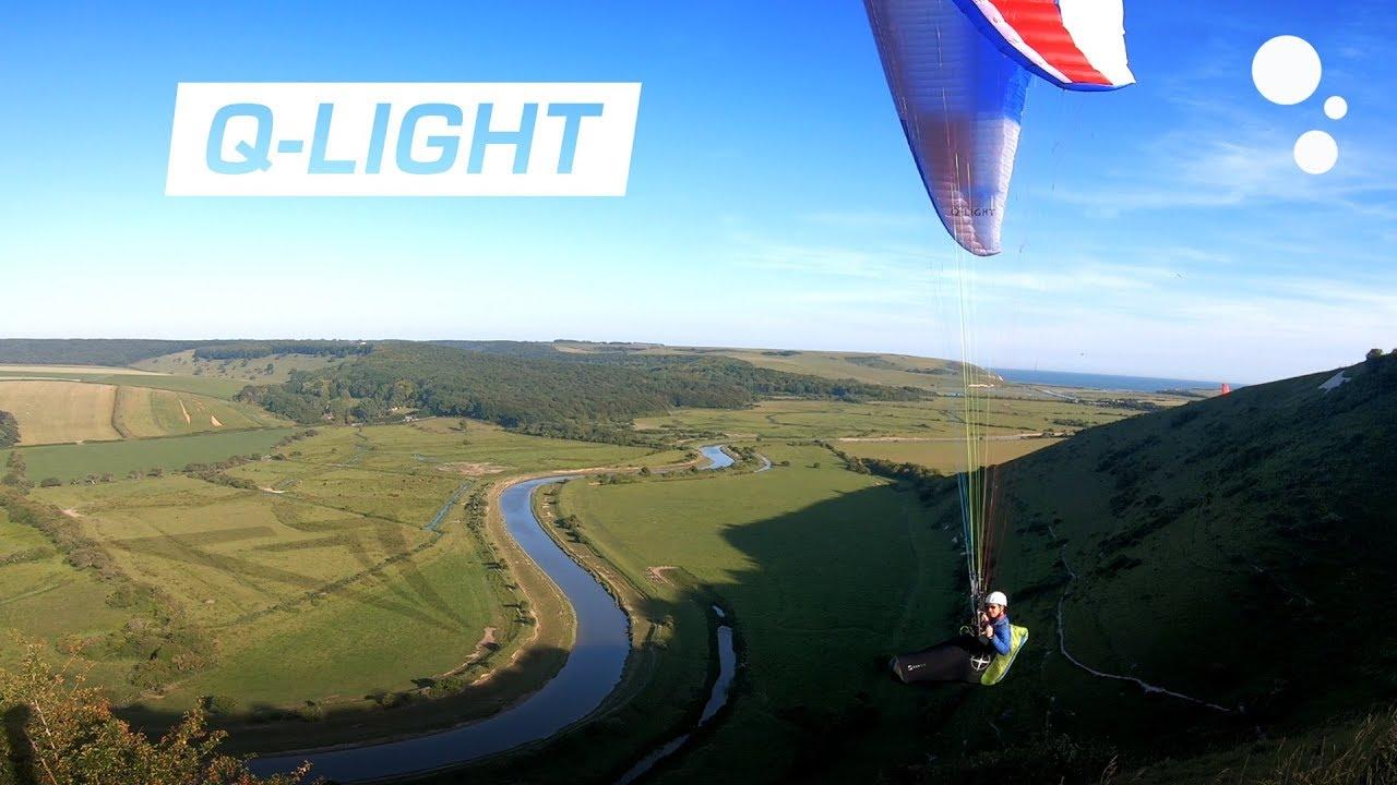 triple seven q light paraglider review