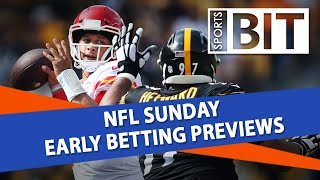 NFL Sunday Early Betting Previews | Sports BIT Live | September 21st