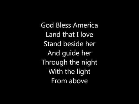 God Bless America  Celine Dion Lyrics